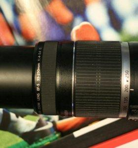 Canon 55-250mm 4-5.6