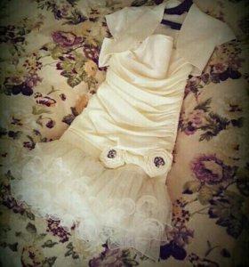 Платье белое размер 40_36