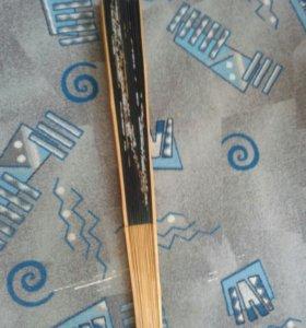 Веер декоративный бамбуковый.