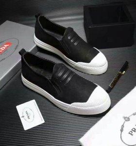 Prada обувь мужская Кожаная новые