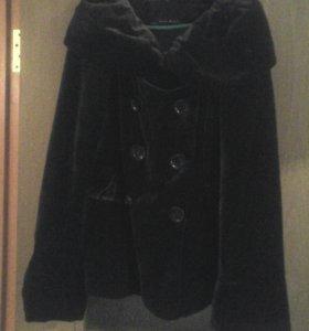 Женский велюр пиджак