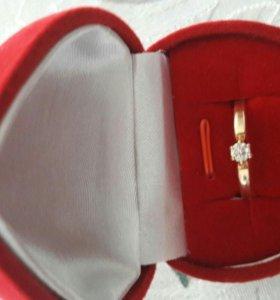 Золотое кольцо 585пр
