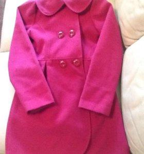 Пальто демисезонное для девочки 10-11 лет