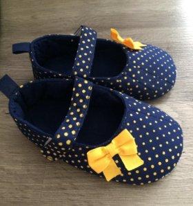 Новые туфли-Пинетки