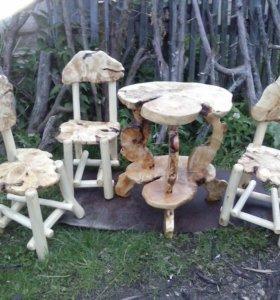 Изделия из натурального дерева