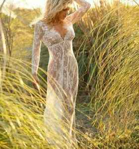 Платье будуарное новое