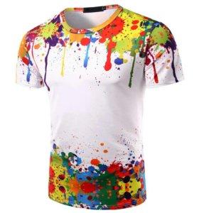 Новая мужская футболка - ХL