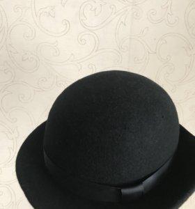 Шляпа фетровая котелок (56см)