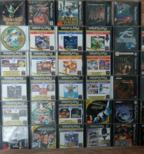41 диск с играми для Playstation 1