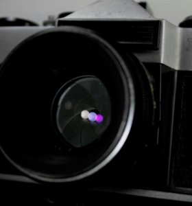 Фотоаппарат Зенит ЕТ с объективом Гелиос 44-2