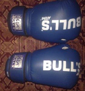 Новые боксерские перчатки Atemi