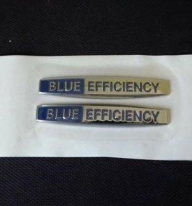 Шильдики Blue Efficiency и т.д.