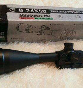 Оптический прицел Leapers 6-24x50 AO Full Size
