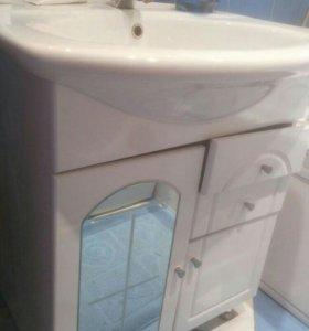 Раковина для ванной с тумбочкой