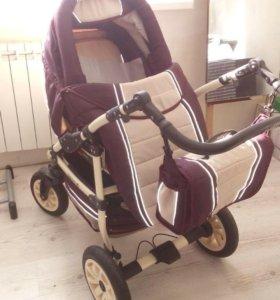 Детская коляска 3 в 1 Adamex