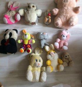 Старенькие игрушки