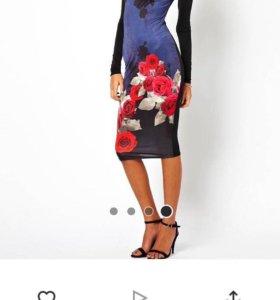 новое платье uk 12 на 46/48
