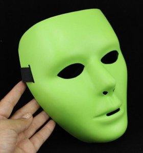 Маска Jabbawockeez зеленая