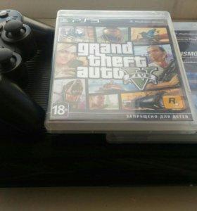 Sony Playstation 3 (ps3) +2 диска в подарок
