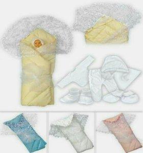 Одеяло - конверт на выписку из роддома