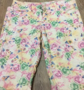 Цветастые брюки