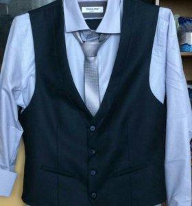 Жилетка ( рубашка+галстук)