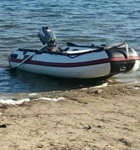 Лодка пвх мотор ямаха 5