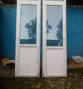 Двери пвх б/у