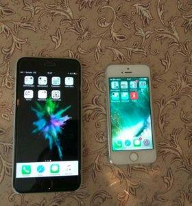 iPhone 6 Plus 64gb и 5s 16gb