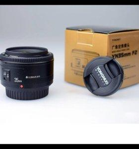 YONGNUO объектив 35mm(f2.0) Canon