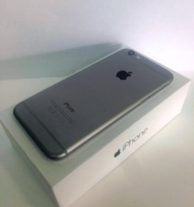 Apple iPhone 6 16Gb. Space Gray. New