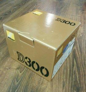 Nikon D300 Коробка