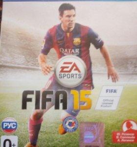 продам игру fifa 15 для ps4