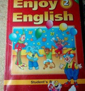 """Учебник английского языка """" Enjoy English"""" 2 класс"""