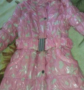 Пальто зимнее GJ 10-12 лет