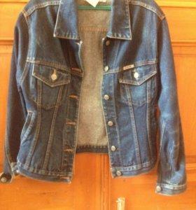 Джинсовая куртка женская р м