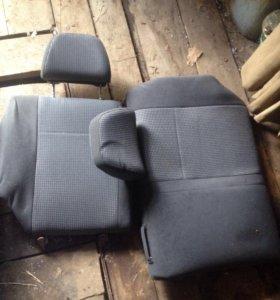Задние сиденье приора