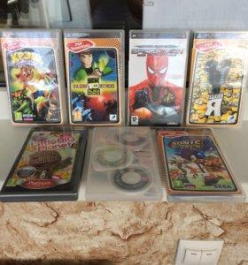 Игры к приставке PSP