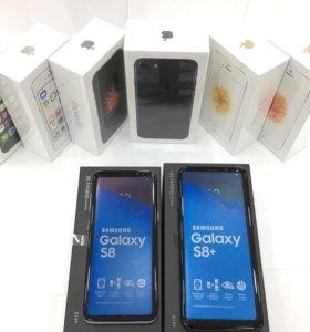 iPhone 7 и Samsung S8/S8+ в наличии