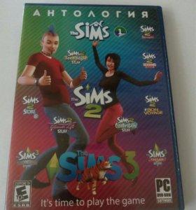 Диск игры Sims