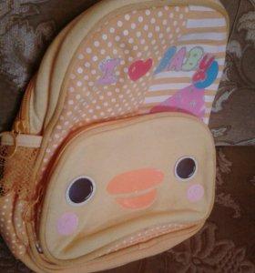 Детский рюкзак для ребенка 3-5 лет
