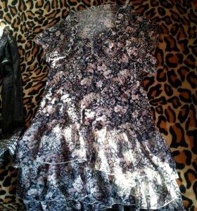 Платье летнее с болеро