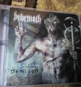 CD Behemoth с автографом басиста