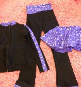 Термокостюм для девочки 6-8 лет для катания