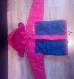 Куртка зимняя на 6-7 лет