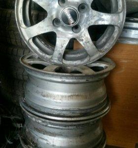 Кованные диски R-13