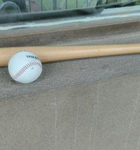 Бейсбольная бита с мячом TORNEO