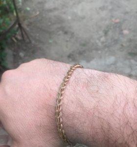 Золотой браслет 585* 7.2 грамма