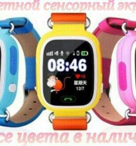 🎁Умные детские часы телефон с GPS В наличии