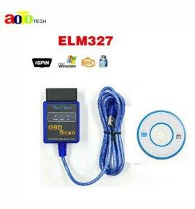 Vgate ELM327 USB OBD2/OBDII ELM 327 V2.1 Авто code